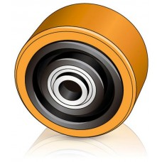 125 - 60 мм Опорное колесо Jungheinrich 51077215 для вилочных погрузчиков, штабелеров - Изображение