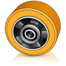 125 - 60 мм Опорное колесо Jungheinrich 50464813 для вилочных погрузчиков, штабелеров - Изображение