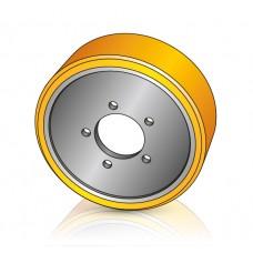175 - 50 мм Ведущее колесо BT 214802 для гидравлических тележек - Изображение