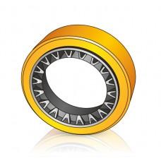 240 - 60 мм Бандажное Ведущее колесо для вилочных погрузчиков, штабелеров - Изображение
