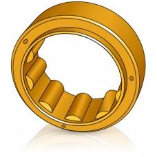 270 - 90 мм Бандаж - Ведущее колесо для погрузчиков, штабелеров, тележек  Jungheinrich / Steinbock  - Изображение