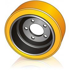 305 - 130/140 мм Ведущее колесо 5 отверстий Hyster 1499038 для ричтраков - Изображение