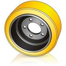 305 - 130/140 мм Ведущее колесо 5 отверстий Yale 580026058 для ричтраков - Изображение