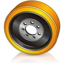 340 - 140 мм Ведущее колесо 7 отверстий для ричтраков и штабелеров - Изображение