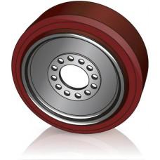 400 -160 мм Ведущее колесо 12 отверстий Jungheinrich 52041025 для ричтраков и  штабелеров - Изображение