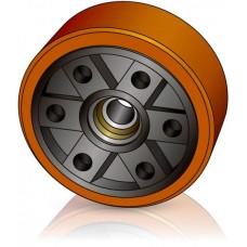 285 - 100 мм Грузовое колесо для погрузчиков, ричтраков - Изображение