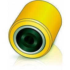 80 - 95 мм Подвилочный ролик для погрузчиков и штабелеров - Изображение