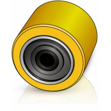 85 - 74 мм Подвилочный ролик для погрузчиков, штабелеров - Изображение