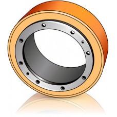 220 - 70 мм Бандаж Ведущее колесо для штабелеров Noblelift - Изображение