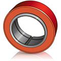 Бандажные ведущие колеса - Изображеине