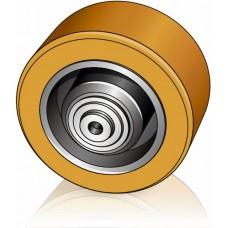 140 - 60 мм Опорное колесо для вилочных погрузчиков, штабелеров, тележек - Изображение