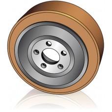 230 - 82 мм Ведущее колесо 5 отверстий BT 249945 для штабелеров и электрических тележек - Изображение