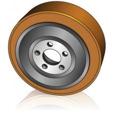 230 - 75 мм Ведущее колесо 5 отверстий BT 239003 для штабелеров и электрических тележек - Изображение