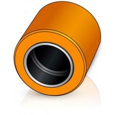 80 - 70 мм Грузовой ролик для вилочных погрузчиков, штабелеров - Изображение