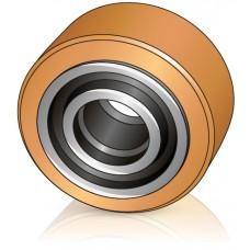 200 - 100 мм Грузовое колесо Jungheinrich 63187810 для штабелеров, ричтраков - Изображение