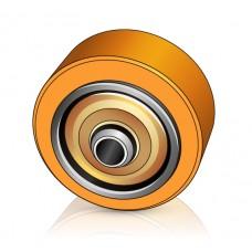 200 - 100 мм Грузовое колесо Jungheinrich 63187820 для штабелеров, ричтраков - Изображение