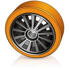 285 - 100 мм Грузовое колесо Jungheinrich 63195320 для вилочных погрузчиков, ричтраков - Изображение