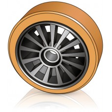 285 - 100 мм Грузовое колесо Jungheinrich 50015372 для вилочных погрузчиков, ричтраков - Изображение