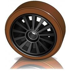285 - 100 мм Грузовое колесо Steinbock 50030462 для штабелеров, ричтраков - Изображение