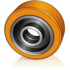 285 - 104 мм Грузовое колесо Jungheinrich 63131380 для ричтраков, штабелеров - Изображение