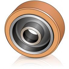 285 - 105 мм Грузовое колесо Atlet 113256 для вилочных погрузчиков, ричтраков Atlet - Изображение