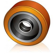 343 - 114 мм Грузовое колесо Jungheinrich 63131060 для вилочных погрузчиков, ричтраков - Изображение