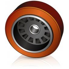 343 - 146 мм Грузовое колесо Jungheinrich 50052401 для вилочных погрузчиков, ричтраков - Изображение