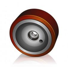 350 - 100 мм Грузовое колесо Linde 0029903808 для вилочных погрузчиков, ричтраков - Изображение