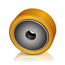 350 - 127 мм Грузовое колесо Yale 580026054 для вилочных погрузчиков, ричтраков - Изображение