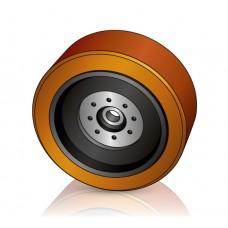 355 - 106 мм Грузовое колесо Jungheinrich 51072864 для штабелеров, ричтраков - Изображение