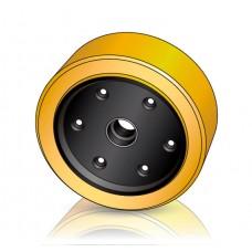 355 - 106 мм Грузовое колесо Jungheinrich 51112013 для штабелеров, ричтраков - Изображение