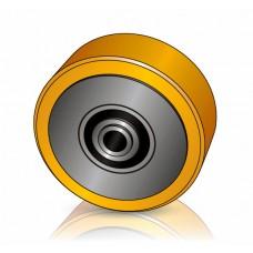 150 - 135 мм Грузовое колесо Jungheinrich 51107126 для электротележек, комплектовщиков - Изображение