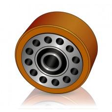 150 - 95 мм Грузовое колесо Jungheinrich 51219781 для комплектовщиков и сборщиков заказов - Изображение