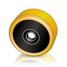 160 - 45 мм Грузовое колесо BT Toyota 209407 для вилочных погрузчиков - Изображение