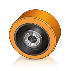 200 - 80 мм Грузовое колесо Rocla 198195EK для вилочных погрузчиков, ричтраков