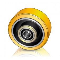 230 - 105 мм Грузовое колесо Atlet 146852 для вилочных погрузчиков, ричтраков - Изображение