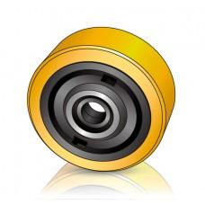 230 - 85 мм Грузовое колесо Jungheinrich 50440384 для ричтраков и штабелеров - Изображение