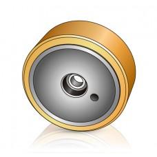 285 - 100 мм Грузовое колесо Linde 0009903910 для ричтраков и штабелеров - Изображение