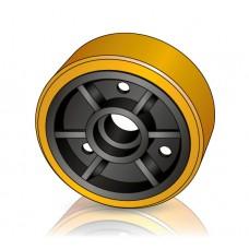 285 - 100 мм Грузовое колесо Hyster 1499032 для штабелеров, ричтраков - Изображение