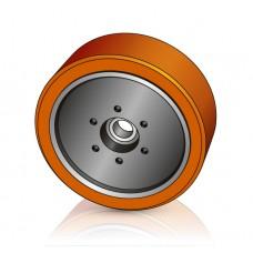 285 - 100 мм Грузовое колесо Jungheinrich 50303244 для ричтраков, электрических тележек - Изображение