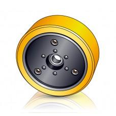 285 - 100 мм Грузовое колесо Jungheinrich 51078774 для ричтраков, электрических тележек - Изображение