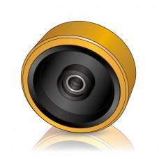 285 - 100 мм Грузовое колесо Jungheinrich 51160625 для вилочных погрузчиков, ричтраков - Изображение