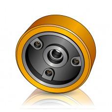 285 - 100 мм Грузовое колесо Jungheinrich 51160629 для ричтраков, электротележек - Изображение