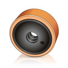 285 - 100 мм Грузовое колесо LINDE 0029903807 для вилочных погрузчиков, ричтраков - Изображение