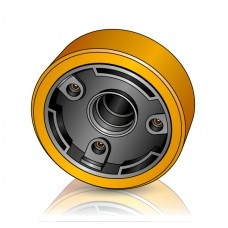 285 - 130 мм Грузовое колесо ROCLA 484816 для вилочных погрузчиков, ричтраков - Изображение