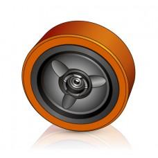 330 - 100 мм Грузовое колесо Crown 816357 для вилочных погрузчиков, ричтраков - Изображение