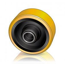 350 - 106 мм Грузовое колесо BT Toyota 241860 для вилочных погрузчиков, ричтраков  - Изображение
