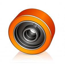 150 - 54 мм Грузовое колесо Atlet 075133 для вилочных погрузчиков - Изображение