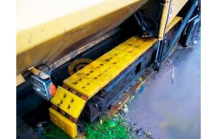 Траки дорожно-строительной техники - Фото