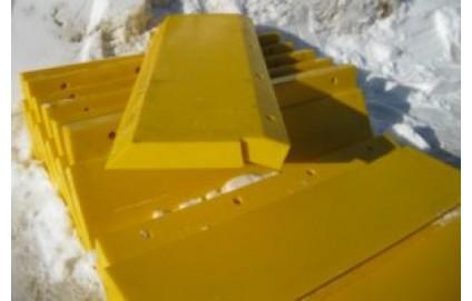 Полиуретановые скребки для конвейерных лент - Фото